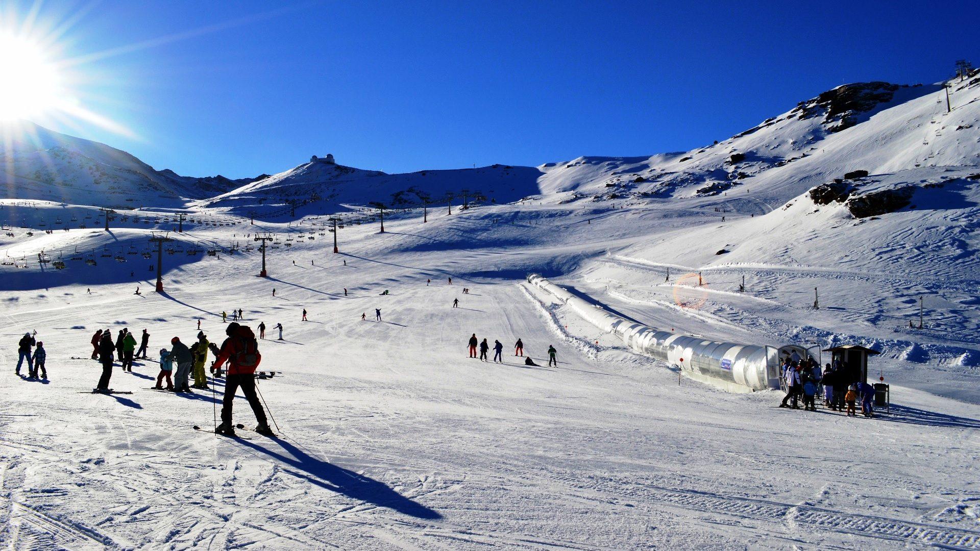 Sierra Nevada, estación de esquí de Marbella