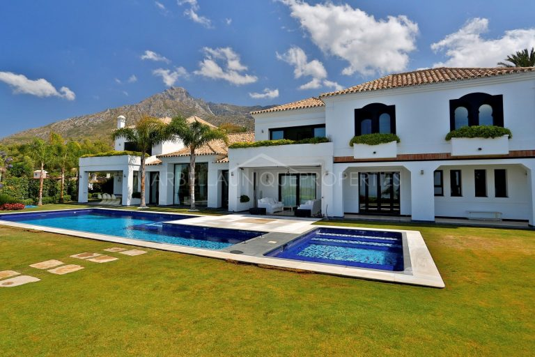 A Majestic Sierra Blanca Villa For Sale